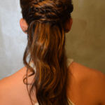 princess hairstyle from back